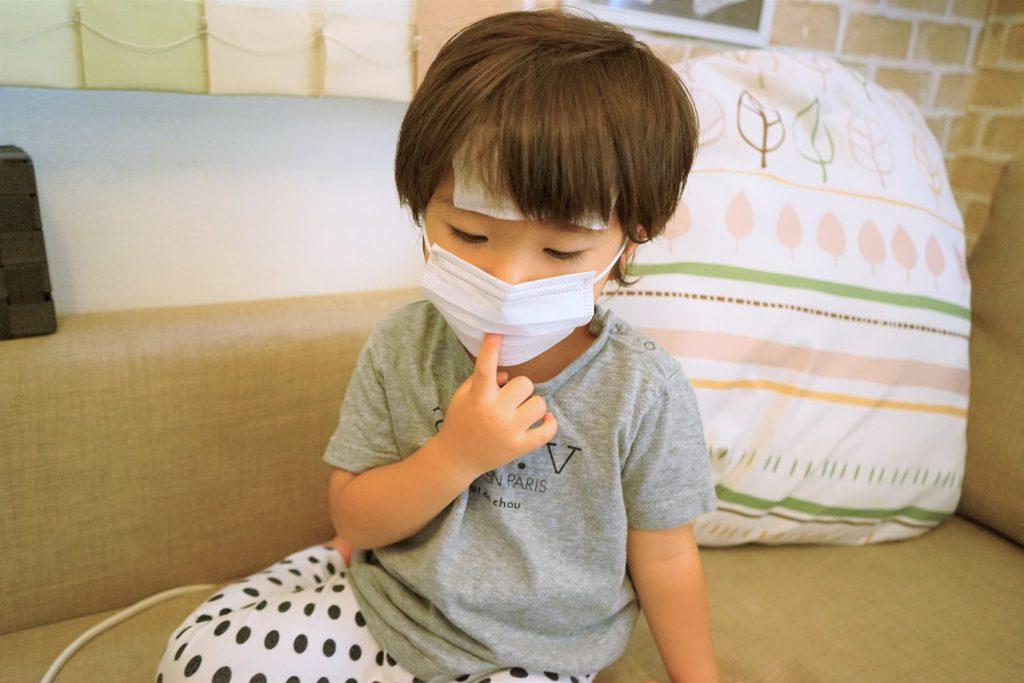ダニによる喘息の子供