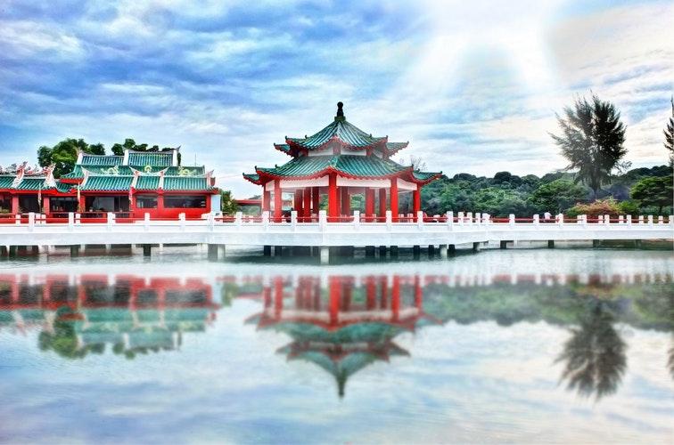 風水発症の中国