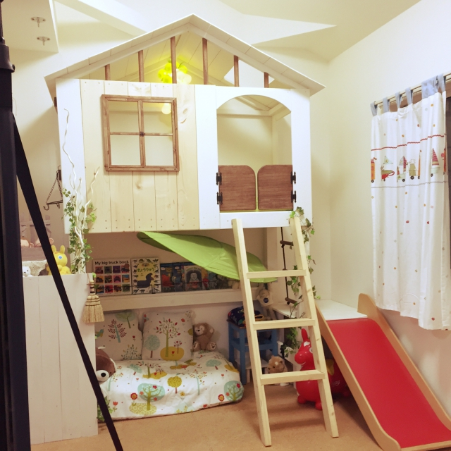子供部屋の秘密基地