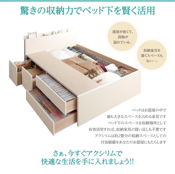 チェストベッドのボックス構造