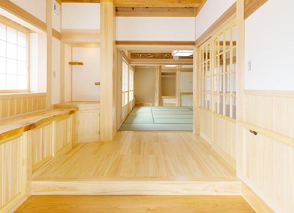 殺菌作用のある檜の家