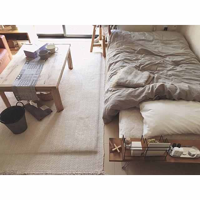 ロータイプすのこベッド