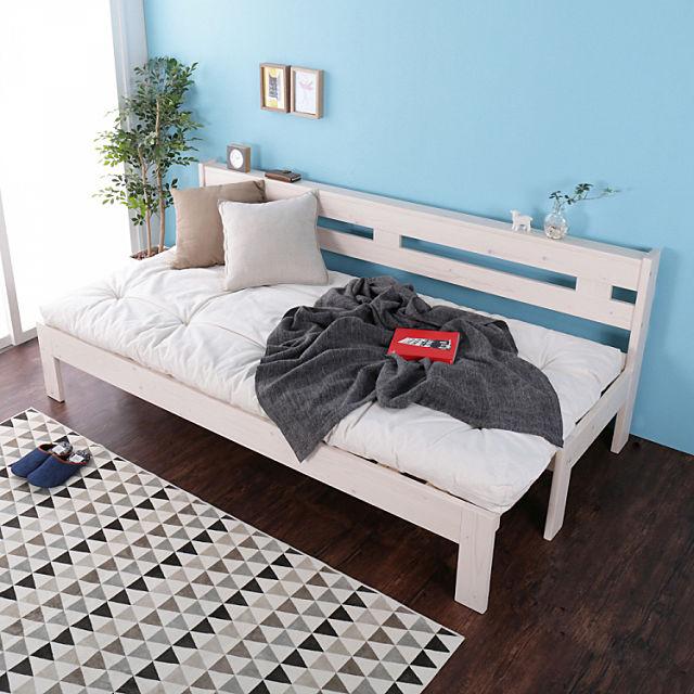 ソファーすのこベッド