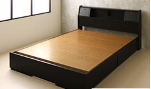 張り板のベッドフレーム