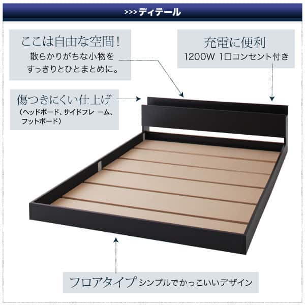 フロアベッドの床板